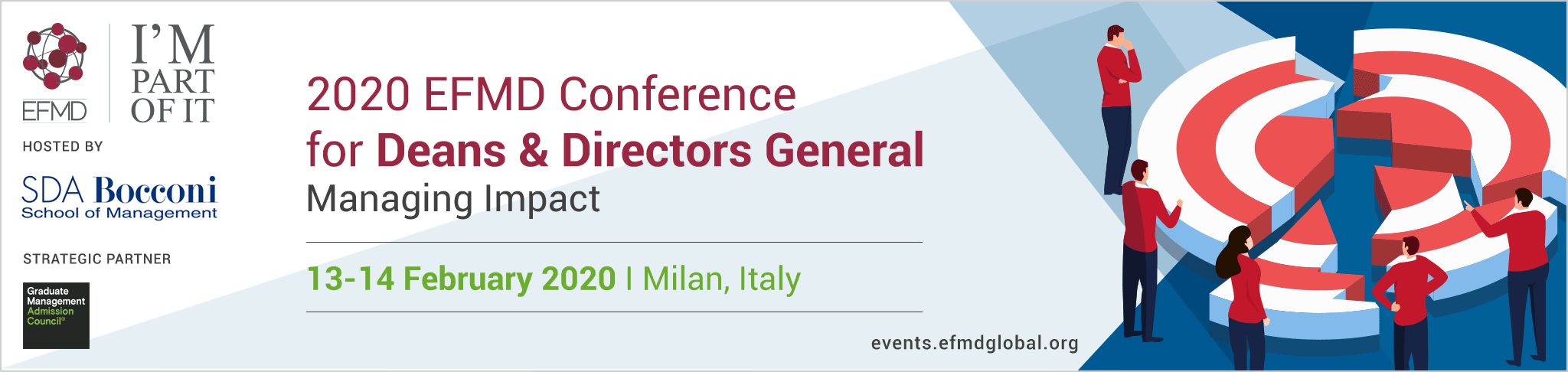 2020 EFMD Conference for Deans & Directors General - SDA Bocconi School of Management - Milan - Italy - Thursday 13  & Friday 14 February 2020