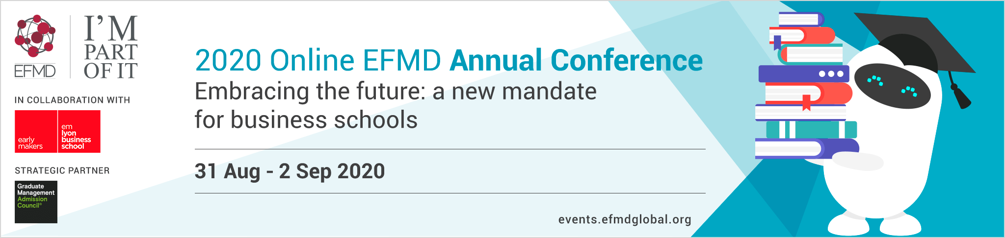 2020 Online EFMD Annual Conference -  - Online -  - Monday 31 August › Wednesday 2 September 2020