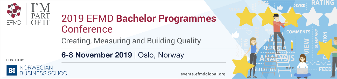 2019 EFMD Bachelor Programmes Conference - BI Norwegian Business School - Oslo - Norway - Wednesday 6  › Friday 8 November 2019